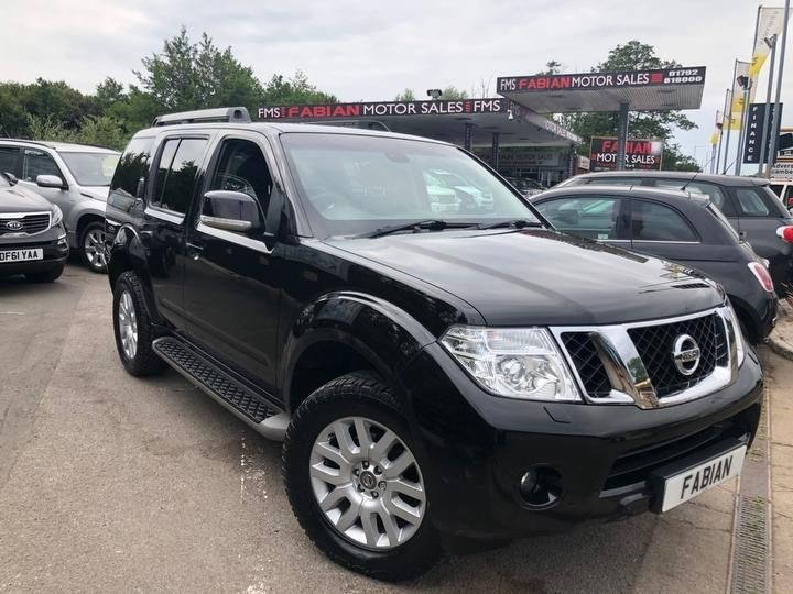 used Nissan Pathfinder DCI TEKNA in neath-south-wales