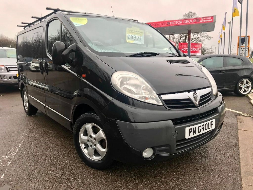 used Vauxhall Vivaro 2900 CDTI SPORTIVE DCB in neath-south-wales