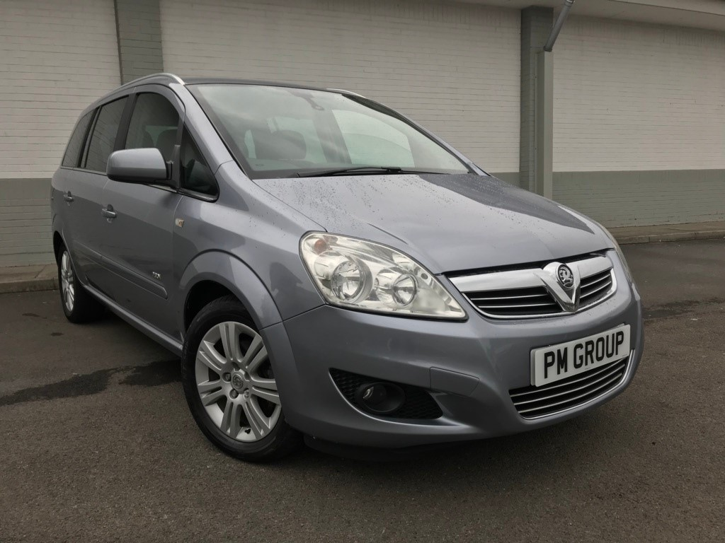 used Vauxhall Zafira i 16v Design 5dr in neath-south-wales