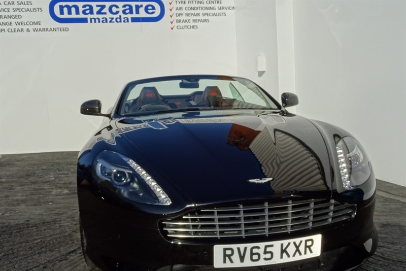used Aston Martin DB9 GT VOLANTE TOUCHTRONIC  5.9 V12 II in wolverhampton-westmidlands