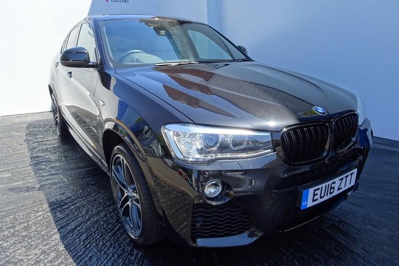 used BMW X4  35D XDRIVE M SPORT in wolverhampton-westmidlands