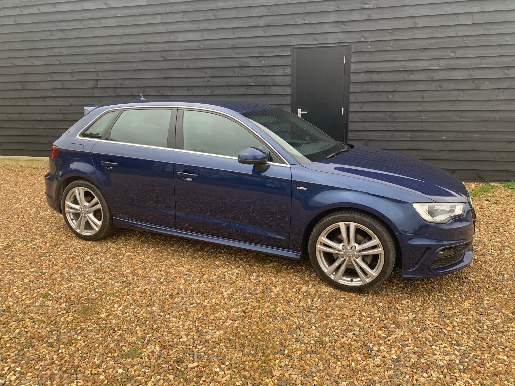 used Audi A3 TDI S LINE in essex