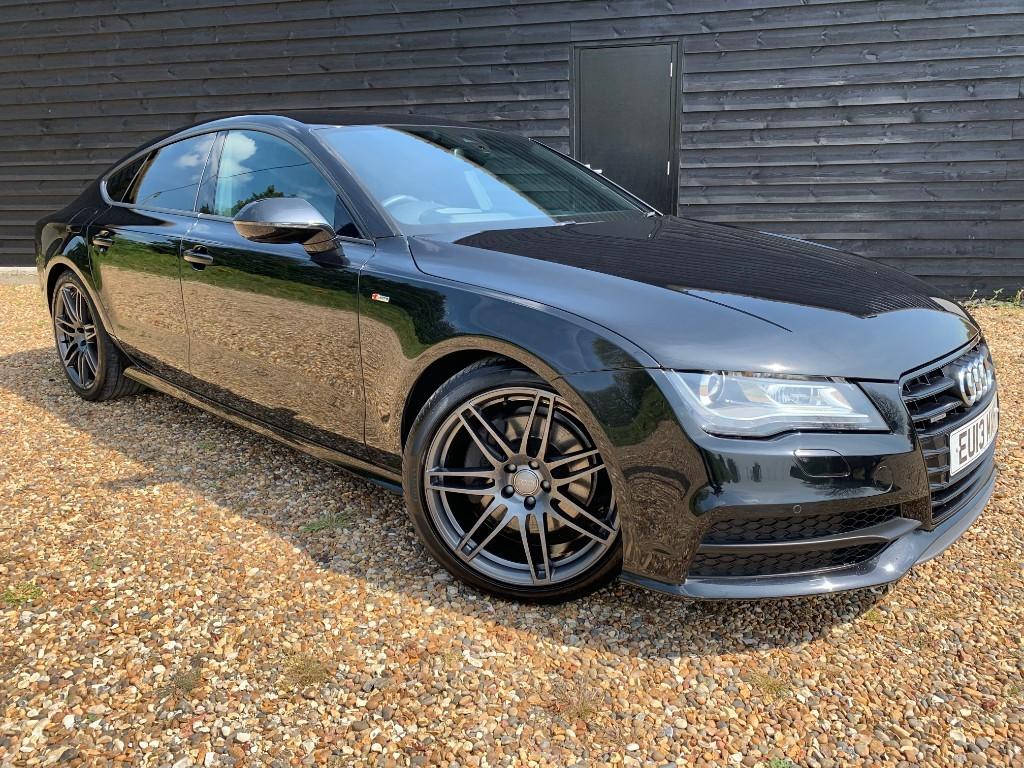 used Audi A7 TDI QUATTRO S LINE in essex