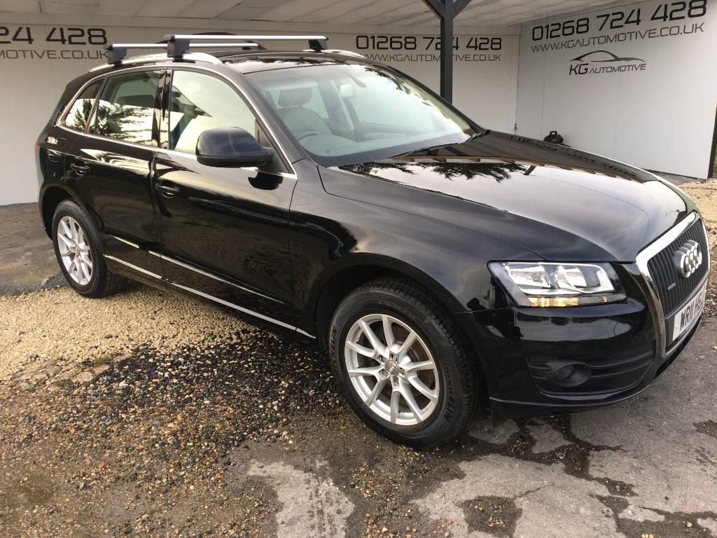 used Audi Q5 TFSI QUATTRO SE in essex