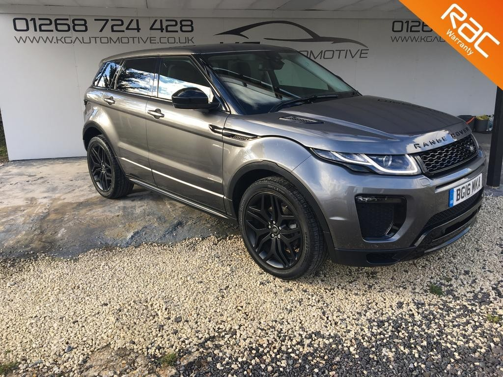 used Land Rover Range Rover Evoque TD4 HSE DYNAMIC in essex