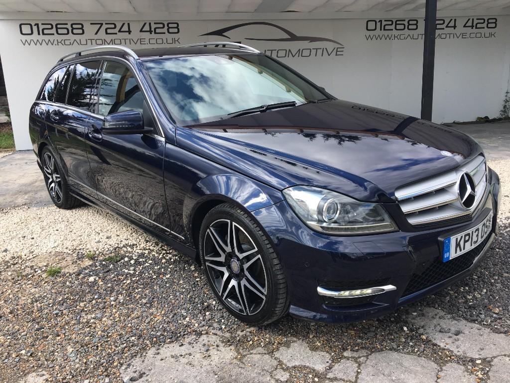 used Mercedes C350 CDI BLUEEFFICIENCY AMG SPORT PLUS in essex