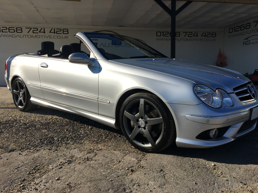 used Mercedes CLK350 SPORT in essex