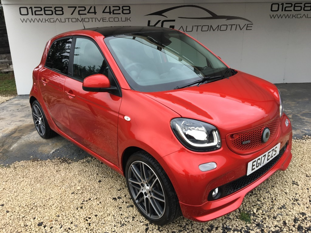 used Smart Car Forfour BRABUS XCLUSIVE in essex