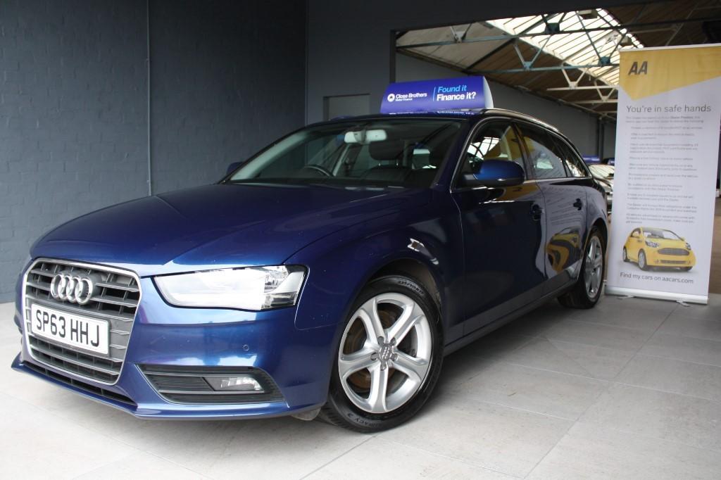 Used Blue Audi A For Sale Staffordshire - Audi car finance