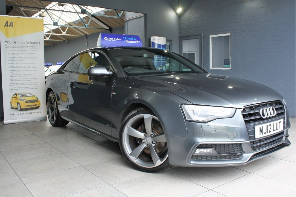 used Audi A5 TDI S LINE BLACK EDITION in staffordshire