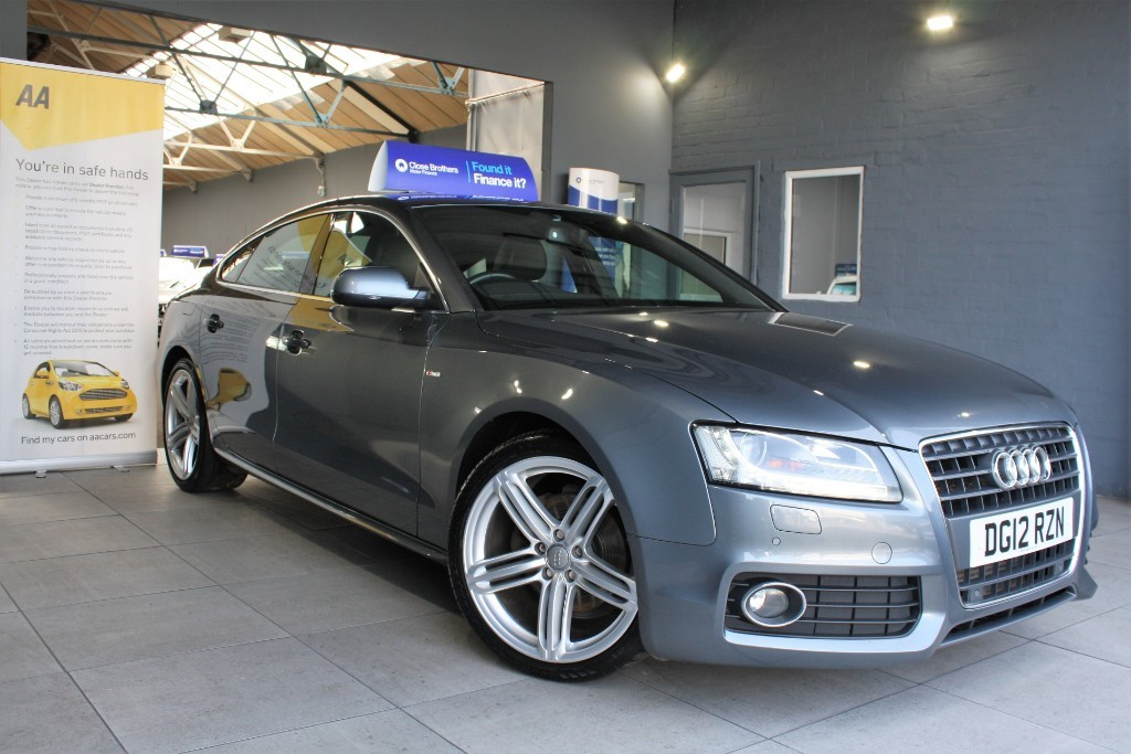 used Audi A5 SPORTBACK TDI S LINE in staffordshire