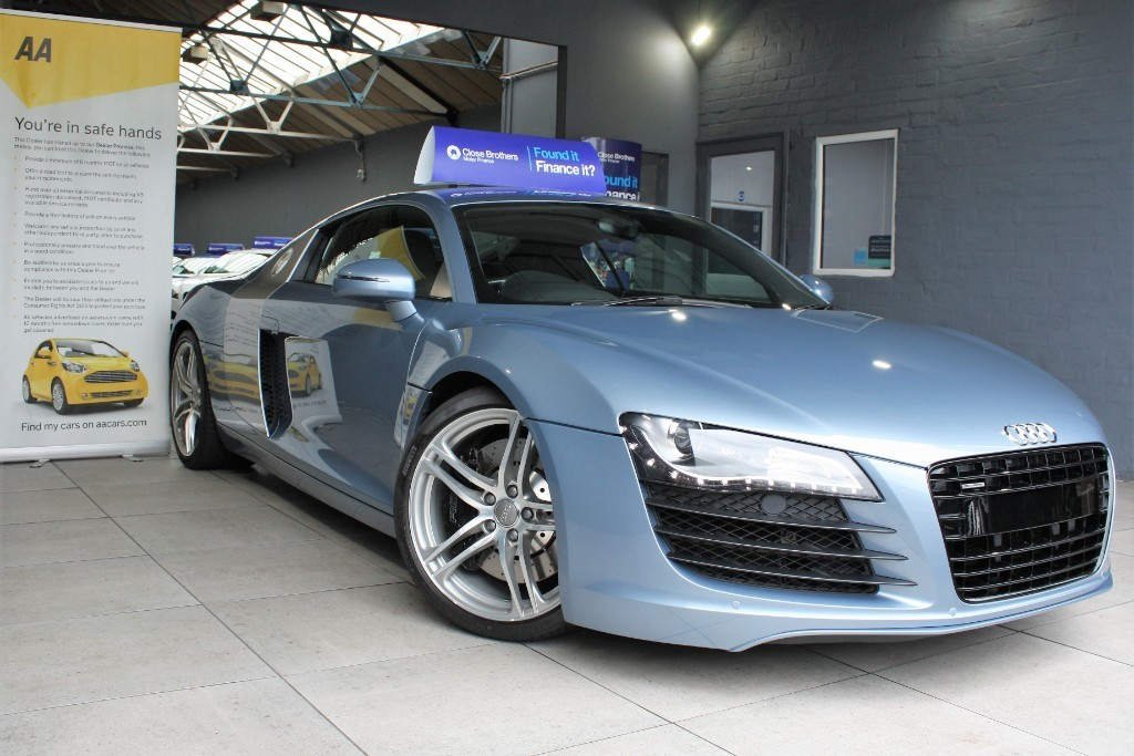 used Audi R8 QUATTRO in staffordshire