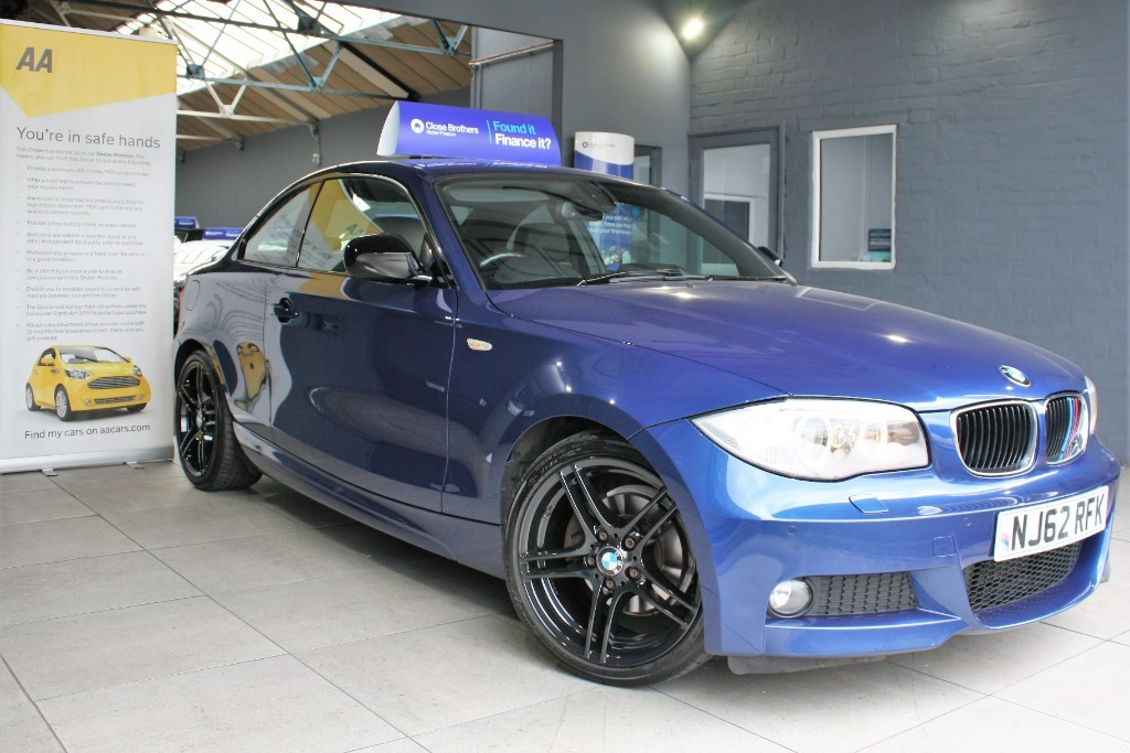 used BMW 118d SPORT PLUS EDITION in staffordshire