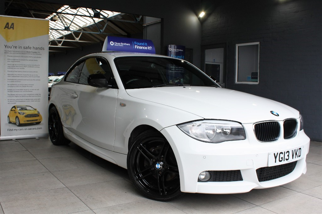 used BMW 120d SPORT PLUS EDITION in staffordshire