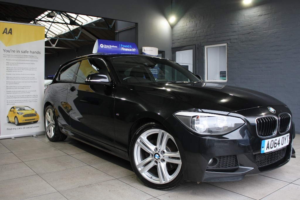 used BMW 120d M SPORT in staffordshire