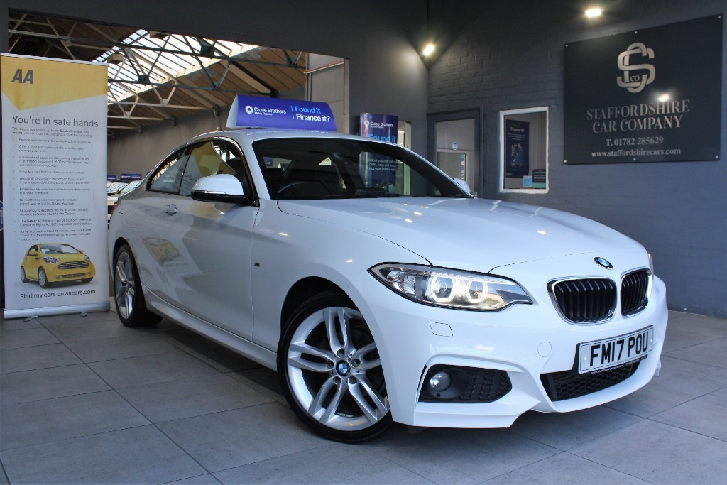 used BMW 218i M SPORT in staffordshire