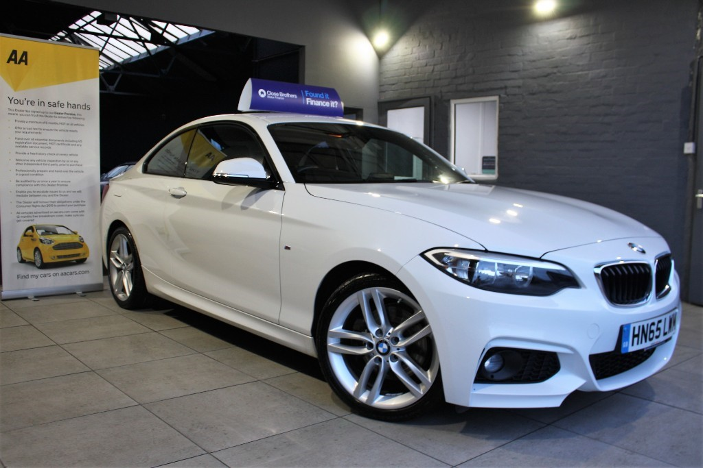 used BMW 220d M SPORT in staffordshire