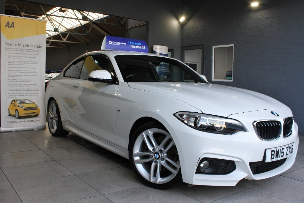 used BMW 225d M SPORT in staffordshire