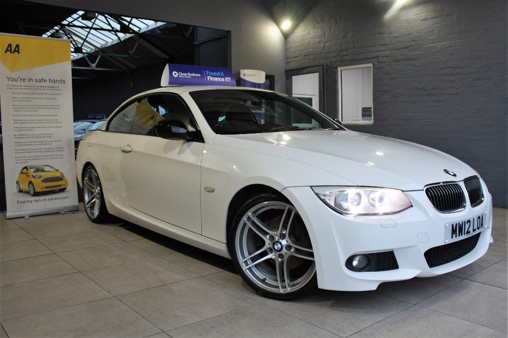 used BMW 320d SPORT PLUS EDITION in staffordshire