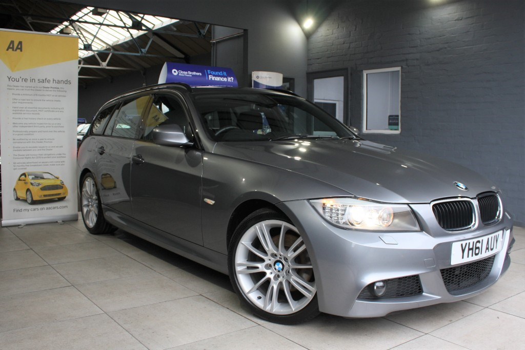 used BMW 320d M SPORT TOURING in staffordshire