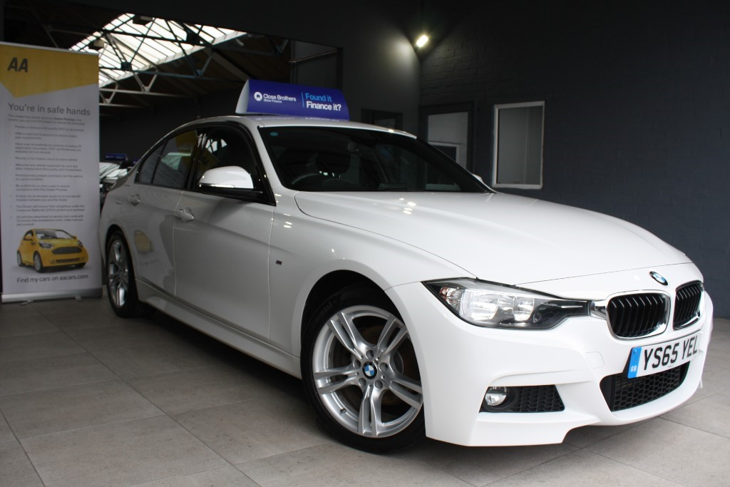used BMW 320d M SPORT in staffordshire