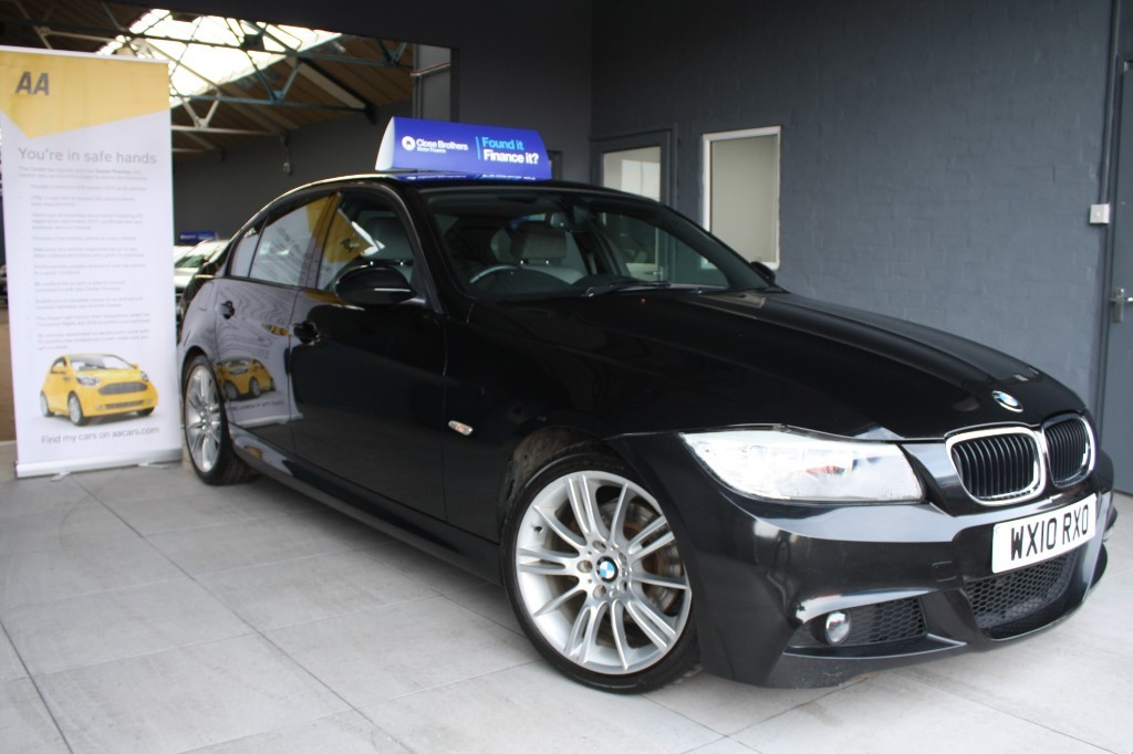used BMW 320d M SPORT BUSINESS EDITION in staffordshire