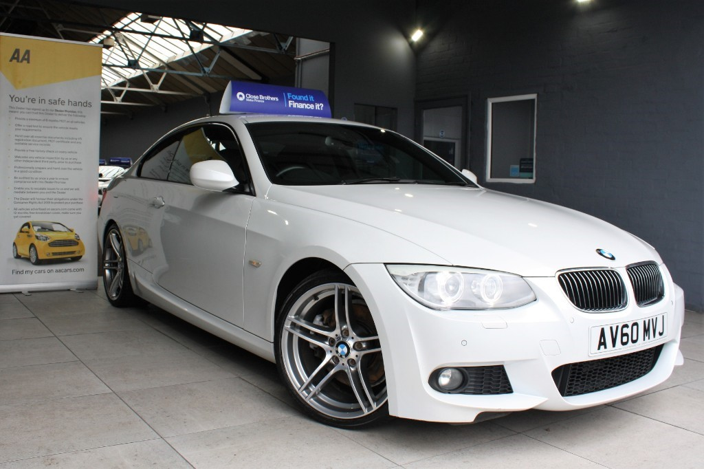 used BMW 330d M SPORT in staffordshire
