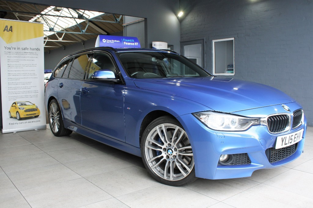 used BMW 330d XDRIVE M SPORT TOURING in staffordshire