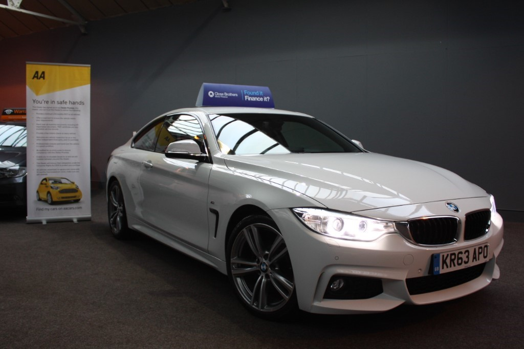 used BMW 420d M SPORT in staffordshire