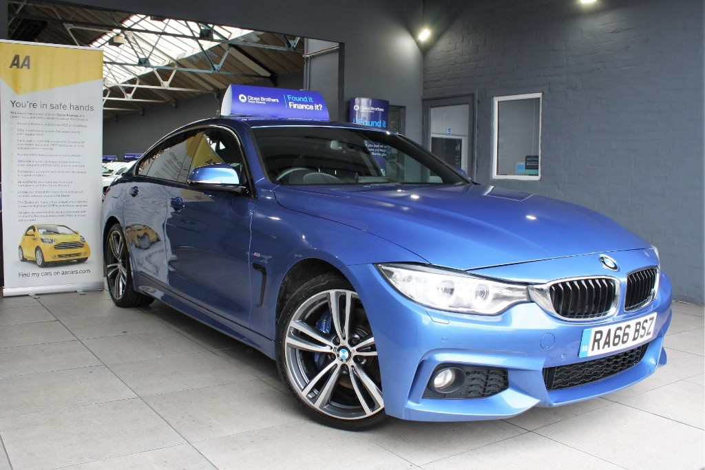 used BMW 420i M SPORT GRAN COUPE in staffordshire