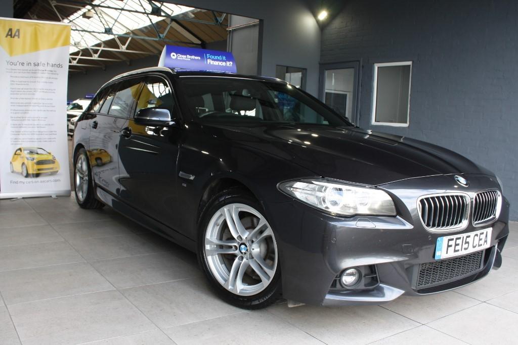 used BMW 520d M SPORT TOURING in staffordshire
