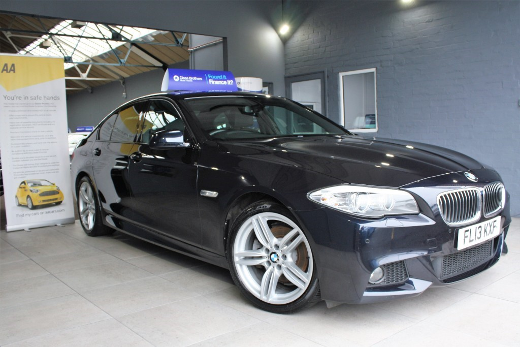 used BMW 520d M SPORT in staffordshire