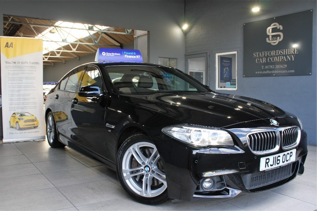used BMW 525d M SPORT in staffordshire
