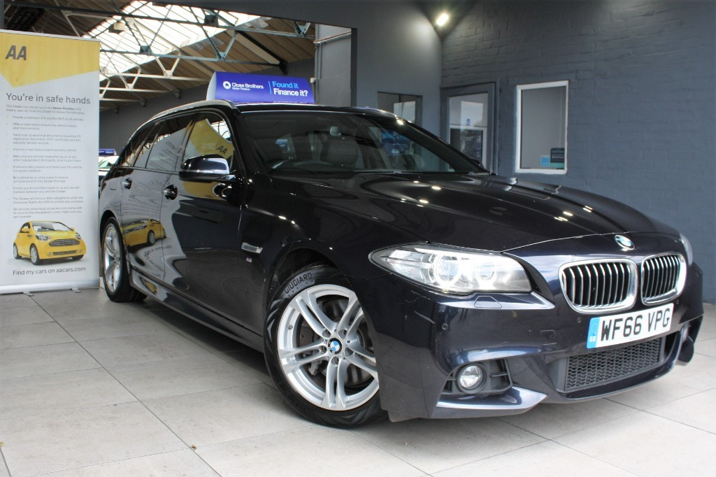 used BMW 530d M SPORT TOURING in staffordshire
