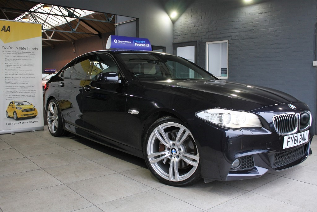 used BMW 535d M SPORT in staffordshire