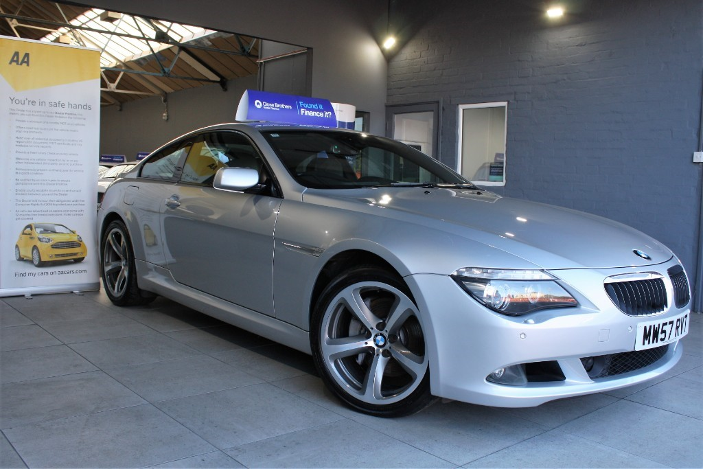 used BMW 635d SPORT in staffordshire