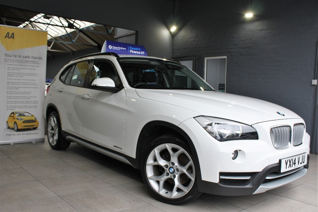 used BMW X1 XDRIVE18D XLINE in staffordshire