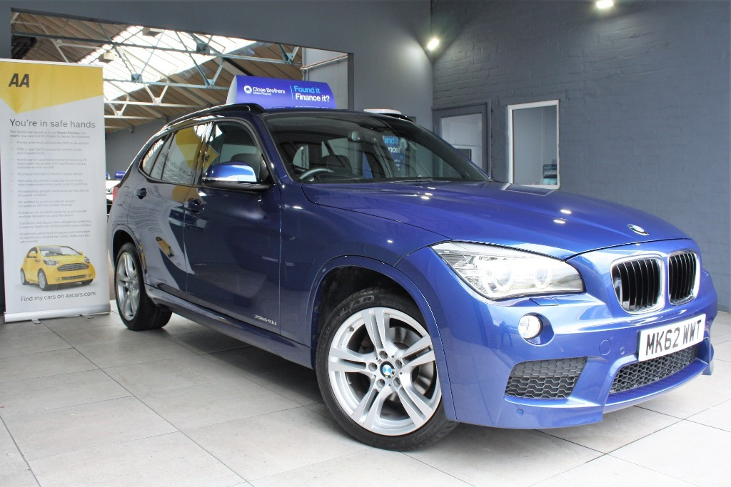 used BMW X1 XDRIVE20D M SPORT in staffordshire