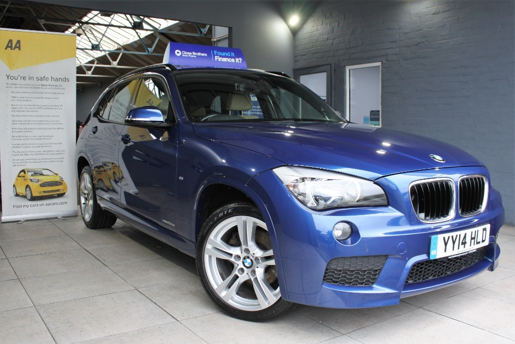 used BMW X1 XDRIVE18D M SPORT in staffordshire