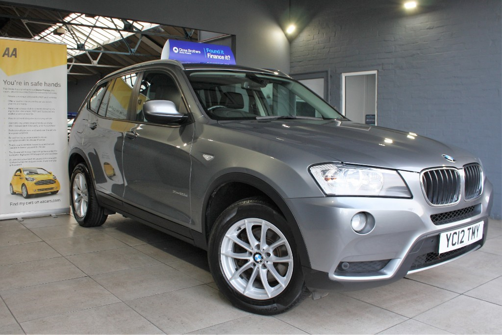 used BMW X3 XDRIVE20D SE in staffordshire
