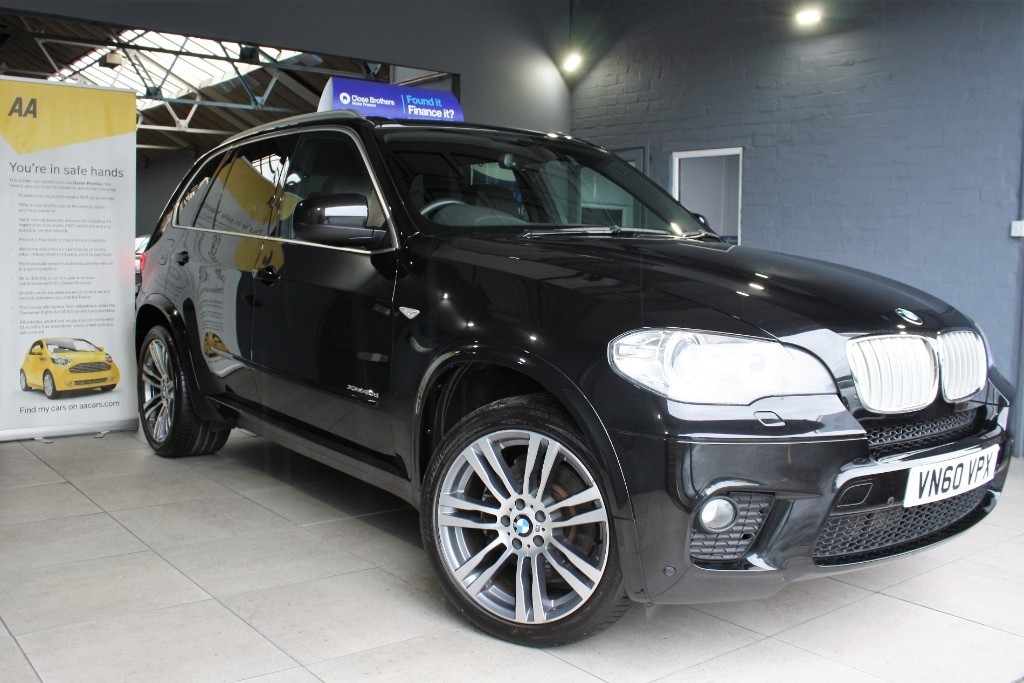 used BMW X5 XDRIVE40D M SPORT in staffordshire