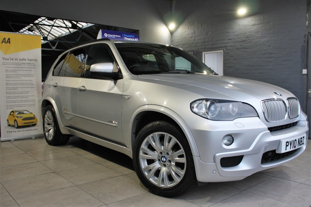 used BMW X5 XDRIVE35D M SPORT in staffordshire