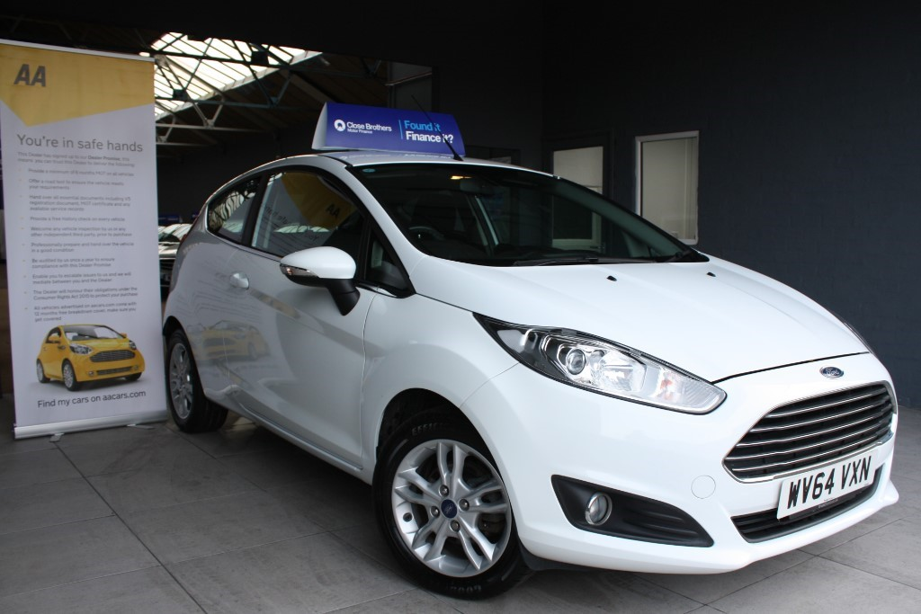used Ford Fiesta ZETEC in staffordshire