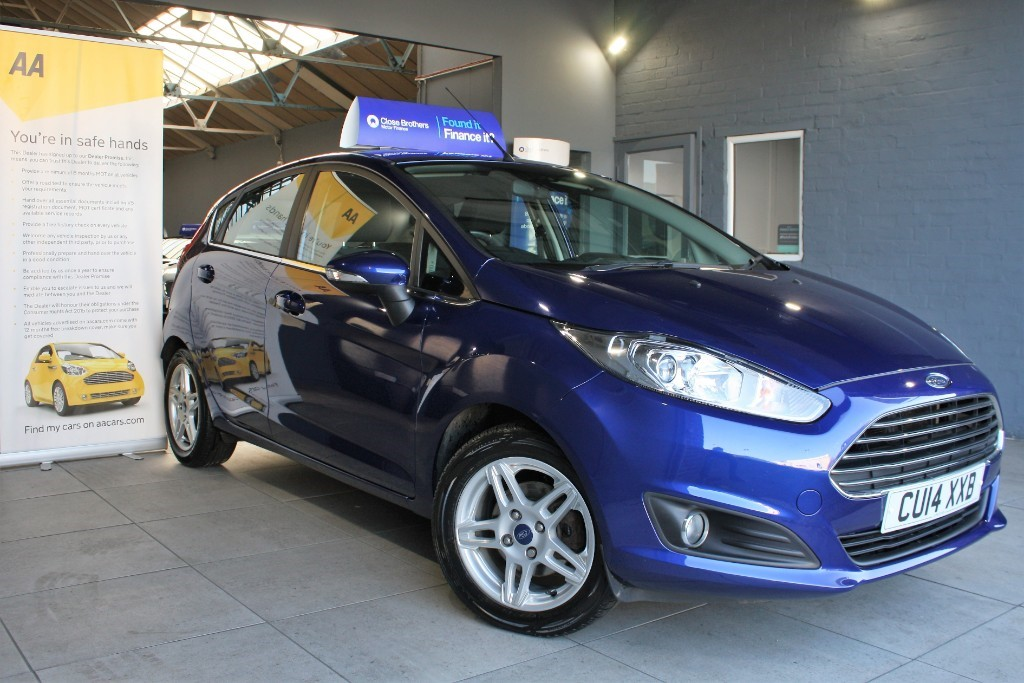 used Ford Fiesta ZETEC TDCI in staffordshire
