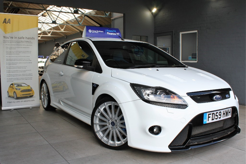 used Ford Focus RS in staffordshire