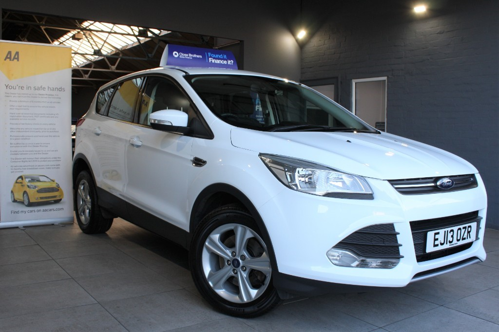 used Ford Kuga ZETEC TDCI in staffordshire