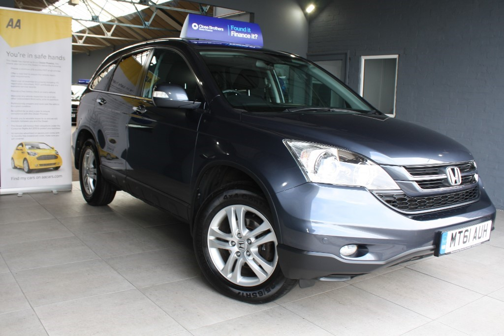 used Honda CR-V I-DTEC SE PLUS in staffordshire
