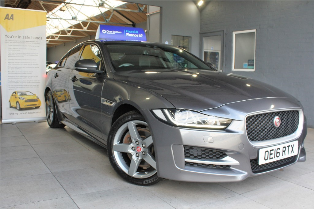 used Jaguar XE R-SPORT AWD in staffordshire