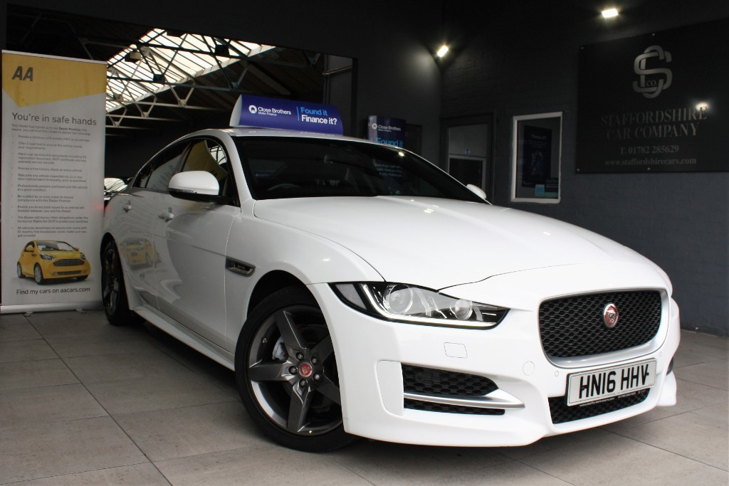 used Jaguar XE R-SPORT in staffordshire