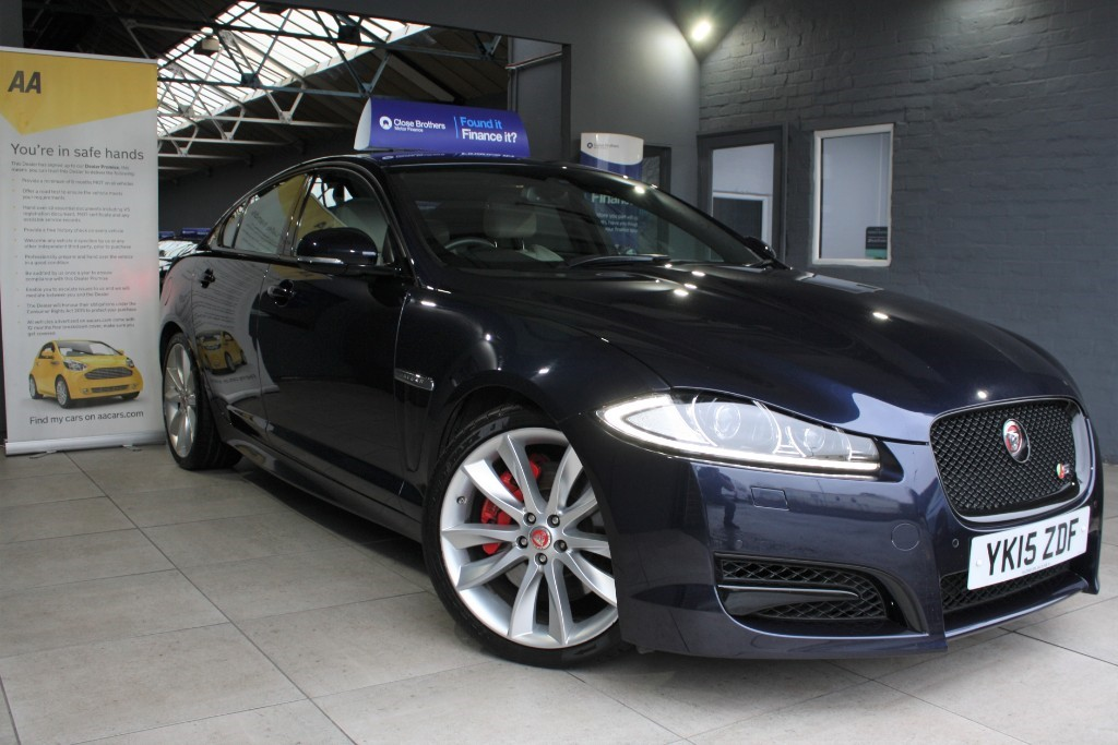 used Jaguar XF D V6 S PORTFOLIO in staffordshire